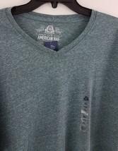American Rag Cie Men's Tri Blend T-Shirt Barbados Blue 152536 image 2