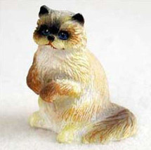Ragdoll Cat TINY ONES Figurine Statue Pet Resin - $8.99