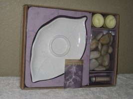 Lavender & Vanilla Oil Burner Gift Set Pure & Natural by Chesapeake Bay ... - $19.75