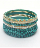 Bangle Bracelet Set Range from thin to wider bangle Contains 7 Bracelets  - $6.18