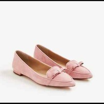 Ann Taylor Althea Flats in Serena Pink Suede - $13.86