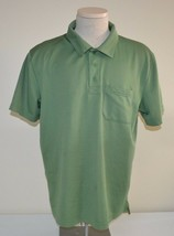Under Armour All Season Gear Polo Shirt Short Sleeve Men's Green Xl Used - $12.86