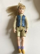 Fisher Price Loving Family Dollhouse Blonde Camping hiking Teen Girl Sis... - $17.77