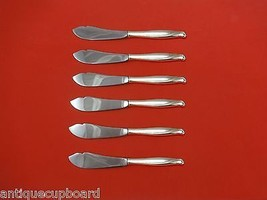"Spring Bud by Alvin Sterling Silver Trout Knife Set 6pc HHWS  Custom Made 7 1/2"" - $366.80"
