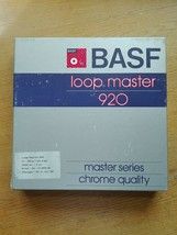 "NOS New Old Stock BASF Loop Master 920 1"" Studio Chrome Reel Tape ULTRA ... - $113.84"