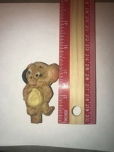 "Weird Melted Rubber Jerry Mouse Hanna Barbera Mcfarlane 2.5"" Figure 1960s - $57.00"