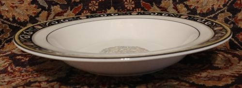 """Wedgwood RUNNYMEDE BLUE 8"""" Rimmed Soup (multiple available) image 2"""