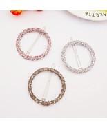 Diamond White Fashion Woman Hair Accessories Hair Clip Pin Metal Geometr... - $10.00