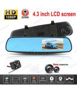 Dual Lens Dash Cam  HD 1080P Car Vehicle Video Camera Recorder DVR G-Sen... - $40.00