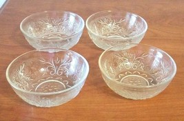 Anchor Hocking Moonstone Opalescent Berry Bowls Set of 4  - $14.85