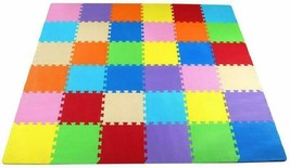 BalanceFrom Kid's Puzzle Exercise Play Mat with EVA Foam Interlocking Tiles - $20.78+