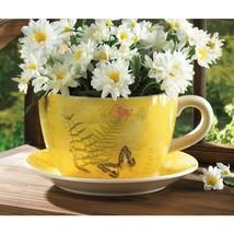 Garden Butterfly Teacup Planter - $28.00
