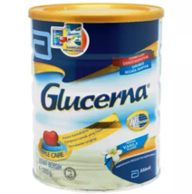 GLUCERNA TRIPLE CARE DIABETIC MILK POWDER VANILLA 850g X 2 EXPRESS SHIPP... - $93.41