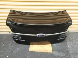 13-18 Ford Taurus SEL Trunk Lid W/Camera & Spoiler image 1