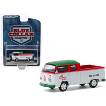 1979 Volkswagen Type 2 Crew Cab Pickup Truck Turtle Wax White and Red wi... - $14.36