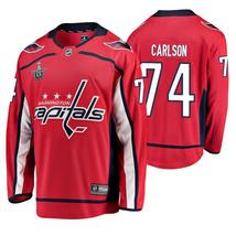 Men's Washington Capitals John Carlson Red Stanley Cup Breakaway Player ... - $59.99