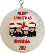 Personalized The Beatles Christmas Ornament Custom Gift #1 - $16.95