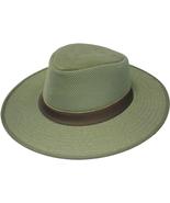 Henschel Adventurer Mesh Crown Breezer Made In USA Khaki Earth Olive Di... - $47.00+