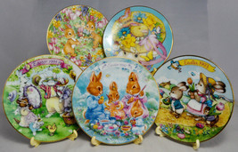 Avon Collectible Easter Plates - 1992-96 - 5 Inch Plate 22K Gold Trim - ... - $28.17