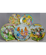 Avon Collectible Easter Plates - 1992-96 - 5 Inch Plate 22K Gold Trim - ... - $30.68