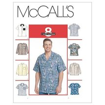 McCall's Patterns M2149 Men's Shirts, Size XLG - $14.21