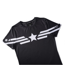Mens Short Sleeve T-Shirt Superhero Captain America Winter Soldier Union Tops image 8