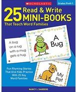 25 Read & Write Mini-Books That Teach Word Families: Fun Rhyming Stories - $6.75
