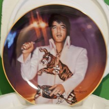 1995 Nate Giorgio Remembering Elvis Porcelain Collector Plate, The Superstar - $6.95