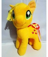 Hasbro My Little Pony Plush Applejack Funrise Orange Yellow Pink Red  Ha... - $17.45