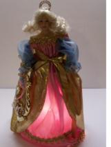 Paradise Galleries TREETOP ANGEL Porcelain Christmas Patricia Rose COA A... - $30.00