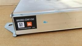 Toyota 4runner Stereo Audio Radio JBL HARMAN/BECKER Amplifier 86280-0w150 image 2