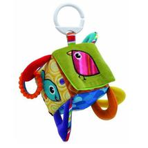 Early Educational Mobile Baby Toy Bird Square Plush Block Clutch Cube Ra... - $23.00