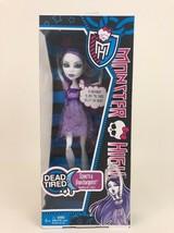 Spectra Vondergeist Monster High Dead Tired Series Doll Sealed Retired 2012 - $29.35