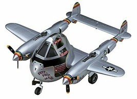 Hasegawa eggs airplane US Army P-38 Lightning non-scale plastic model TH26 - $41.10