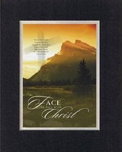 Face to Face with Christ. . . 8 x 10 Inches Biblical/Religious Verses se... - $11.14