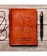 Cancer Zodiac Handmade Leather Journal - $38.00