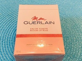 Mon Guerlain Bloom of Rose by Guerlain Eau De Parfum Spray 3.3 oz for Women - $70.00