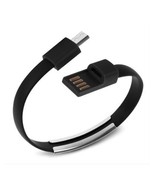 8 Pin USB To USB Cable Bracelet Data Sync Cord For iPhone 5, 5s, 6, 6s L... - $3.99