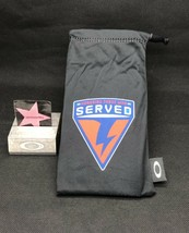 Oakley Served Microfiber Cloth Bag Limited Edition Rare Authentic Honoring Those - $23.99