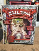 RARE! HTF! Halloween Zultan animated fortune teller yard decoration ligh... - £215.54 GBP