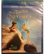 Tinker Bell The Legend Of The Neverbeast Disney Blu-ray + DVD + Digital ... - $8.22