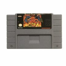 Demon's Crest USA Version 16 bit Big Gray Game Card For NTSC Game Player - $15.99