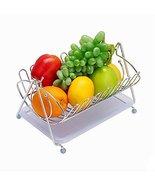 Black Temptation Fashion Home Basics Fruit Basket Stainless Steel Fruit ... - $40.61