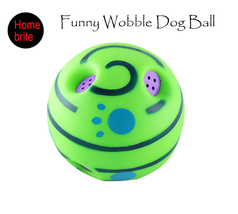 Funny Woggle Dog Play Ball with Funny Sound Pet Toys Cat Train Ball Indo... - $24.99