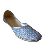 Women Shoes Mojari Indian Handmade Leather Stylish FlipFlops Flat Juttie... - $29.99