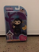 New Fingerlings - Interactive Baby Monkey - Finn(Black Hair)By WowWee authentic - $25.24