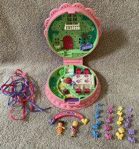 Vintage 1994 Polly Pocket Birthday Surprise COMPLETE Dolls Decorations R... - $249.99