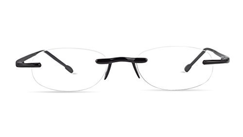 Scojo New York Gels The Original Reading Glasses - Midnight +3.00 Magnification