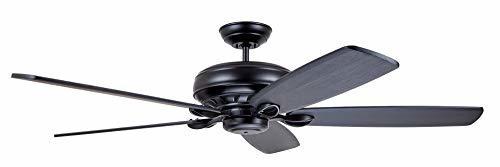 Emerson CF5200BQ Blade Series Penbrooke Select Eco Ceiling Fan, Barbeque Black