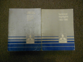 1986 Mitsubishi Truck Service Repair Shop Manual 2 Vol Set Factory Oem Book 86 - $44.51